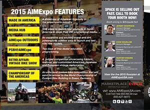 AIMExpo 2015 Prospectus