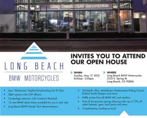 Long Beach BMW Open House Flyer